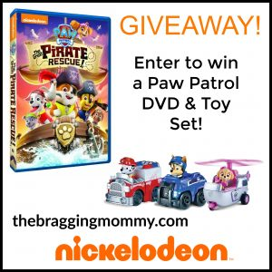 Paw Patrol: The Great Pirate Rescue DVD & Toy Set Giveaway