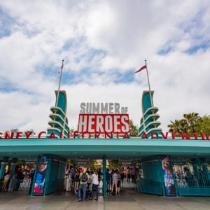 Last Chance to Visit Summer of Heroes at Disneyland!