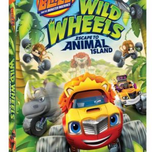 Blaze and the Monster Machines: Wild Wheels Escape to Animal Island DVD Giveaway