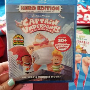 Captain Underpants is Now Available on Blu-ray #CaptainUnderpantsHE #TraLaLaa
