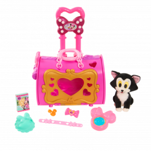 Minnie's Happy Helpers Pet Carrier and the Care Bears Collector Set