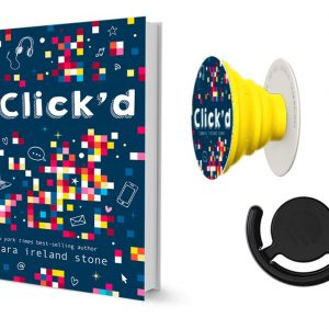 New Book for Middle-Grade Readers ~ Click'd Book & popsocket Giveaway #ClickdBook