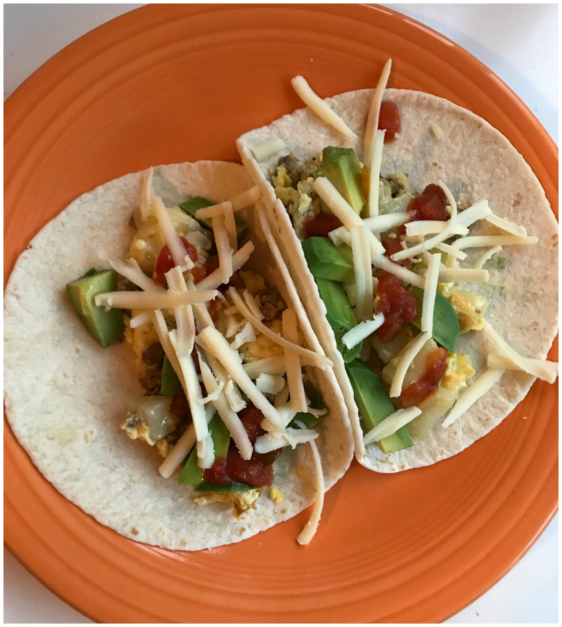 Easy Cheesy Breakfast Tacos Recipe- Brunch Better with Nellie's Free