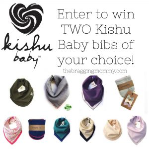 Kishu Baby Bibs Review, 30% Off Discount, and Giveaway!