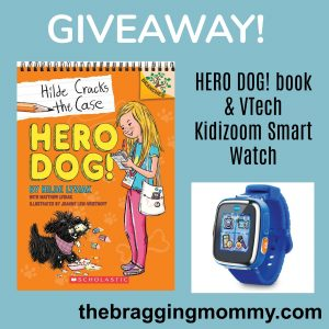 HERO DOG! Book & VTech Kidizoom Smart Watch Giveaway #ScholasticBranches
