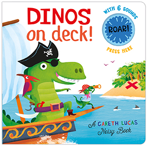 Silver Dolphin Books- Gareth Lucas Noisy Books and Woodworks Nursery Rhymes Review