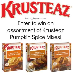 It's Pumpkin Spice Season! Celebrate with Krusteaz's Pumpkin Spice Mixes- Muffins, Cookies, and Bread! Oh My! + Giveaway
