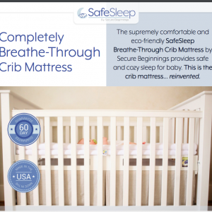 Secure Beginnings SafeSleep Breathe-Through Crib Mattress Review