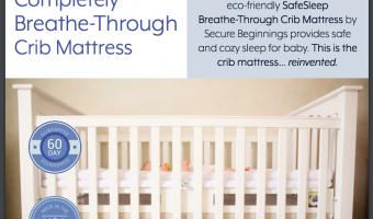 Secure Beginnings SafeSleep Breathe-Through Crib Mattress Review