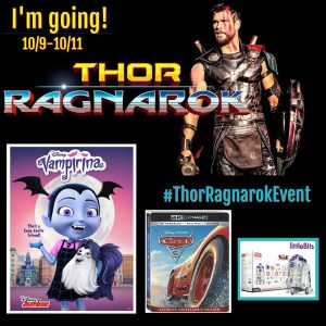 Follow Me As I Head to LA 10/9-10/11 for the #ThorRagnarokEvent!