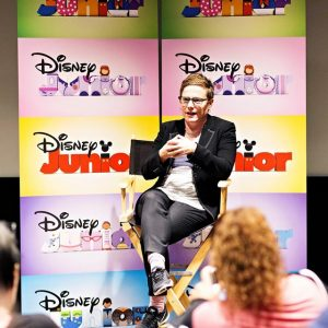 Sitting Down with Disney Junior's VAMPIRINA Executive Producer Chris Nee #Vampirina