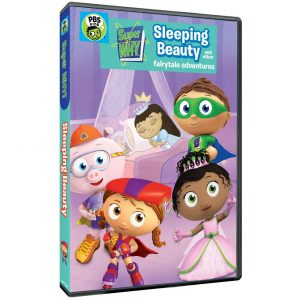 Super Why!: Sleeping Beauty and Other Fairytale Adventures DVD Giveaway