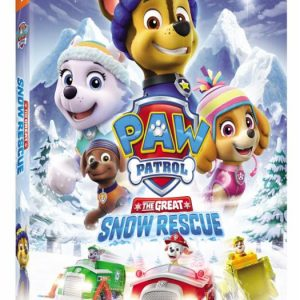 Paw Patrol: The Great Snow Rescue DVD Giveaway