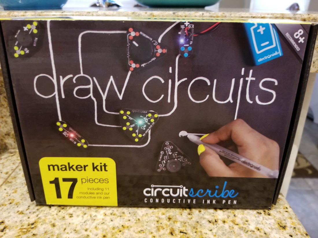 Brag Worthy Christmas Draw Your Own Circuits With Circuit Scribe Build This Kit Allows You To Explore Conductivity Touch Sensitive And Understanding Of Inputs Outputs Signal Processing In