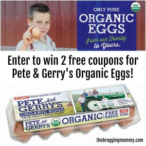 Red and Green Holiday Avocado Deviled Eggs with Pete and Gerry's Organic Eggs {and Giveaway}