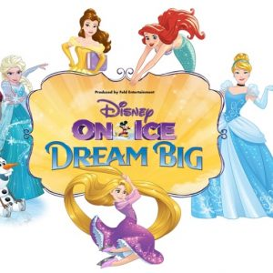 Disney on Ice presents Dream Big is coming to Utah November 16-19 + Giveaway!