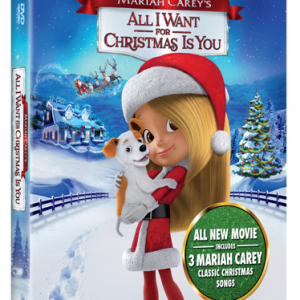 {Brag Worthy Christmas} Mariah Carey's All I Want for Christmas is You Blu-ray Giveaway #AllIWantMovie