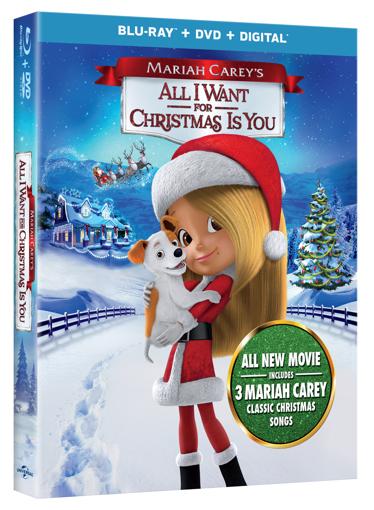 brag worthy christmas mariah careys all i want for christmas is you blu ray giveaway alliwantmovie - All I Want For Christmas Cast