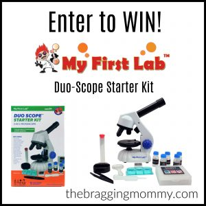 {Brag Worthy Christmas} My First Lab Duo-Scope & Smartphone Inspector Review and Duo-Scope Starter Kit Giveaway