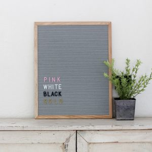 {Brag Worthy Christmas} McLeod LetterCo Felt Letter Boards Review and Discount