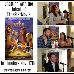 Chatting with the Talent of THE STAR ~ #TheStarMovie Opens in Theaters this Friday