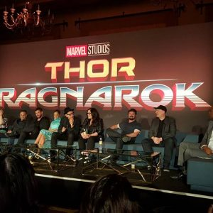 Thoughts from the Cast of #ThorRagnarok Press Conference~ Opens in Theaters Friday! #ThorRagnarokEvent
