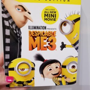 {Brag Worthy Christmas} Despicable Me 3 is Now Available on Blu-ray, DVD, & Digital! + Free Printables