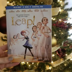 {Brag Worthy Christmas} LEAP Now Available on Blu-ray and DVD
