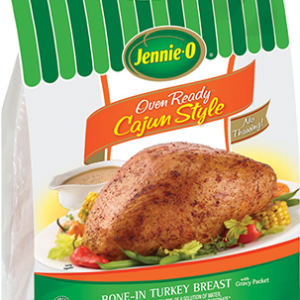 Jennie-O OVEN READY™ Cajun Style Bone-In Turkey Breast- Make This Holiday EASY PEASY!