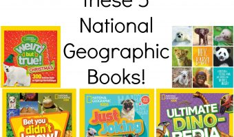 {Brag Worthy Christmas} National Geographic Kids Books Review and Giveaway
