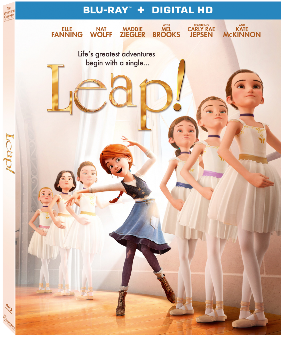 Brag Worthy Christmas} LEAP Now Available on Blu-ray and DVD