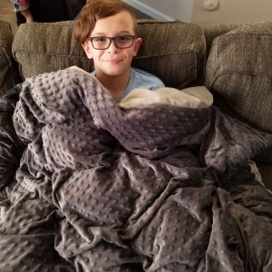 Does Your Special Needs Child Struggle to Sleep? Check out this Highest Rated Weighted Blanket