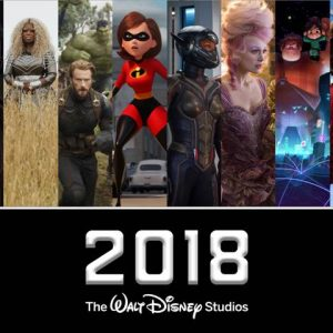 A List of Walt Disney Studios Movies Coming to Theaters in 2018!