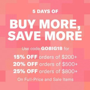 Shopbop Buy More Save More Sale is Happening Now!