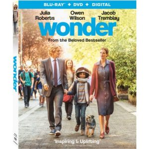 WONDER is Available on Blu-ray Feb. 13th ~ Enter to win a #Wonder Blu-ray! (2 Win)