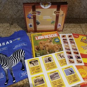 Check out the Latest National Geographic Subscription Box From Pley #pleyandlearn March 2018