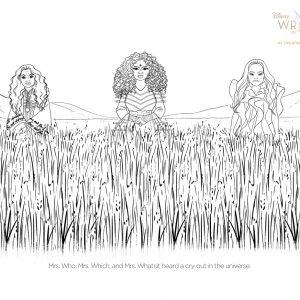 Free Printable Activity and Coloring Sheets for Disney's A WRINKLE IN TIME #WrinkleInTime opens This Friday!
