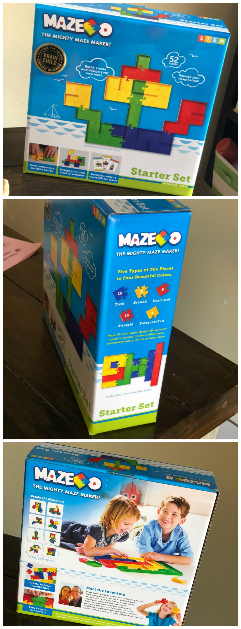 Maze-O The Mighty Maze Maker Review and Giveaway | Bragging