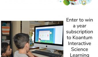 Koantum Interactive Science Learning Platform for Early Learners Review and Giveaway