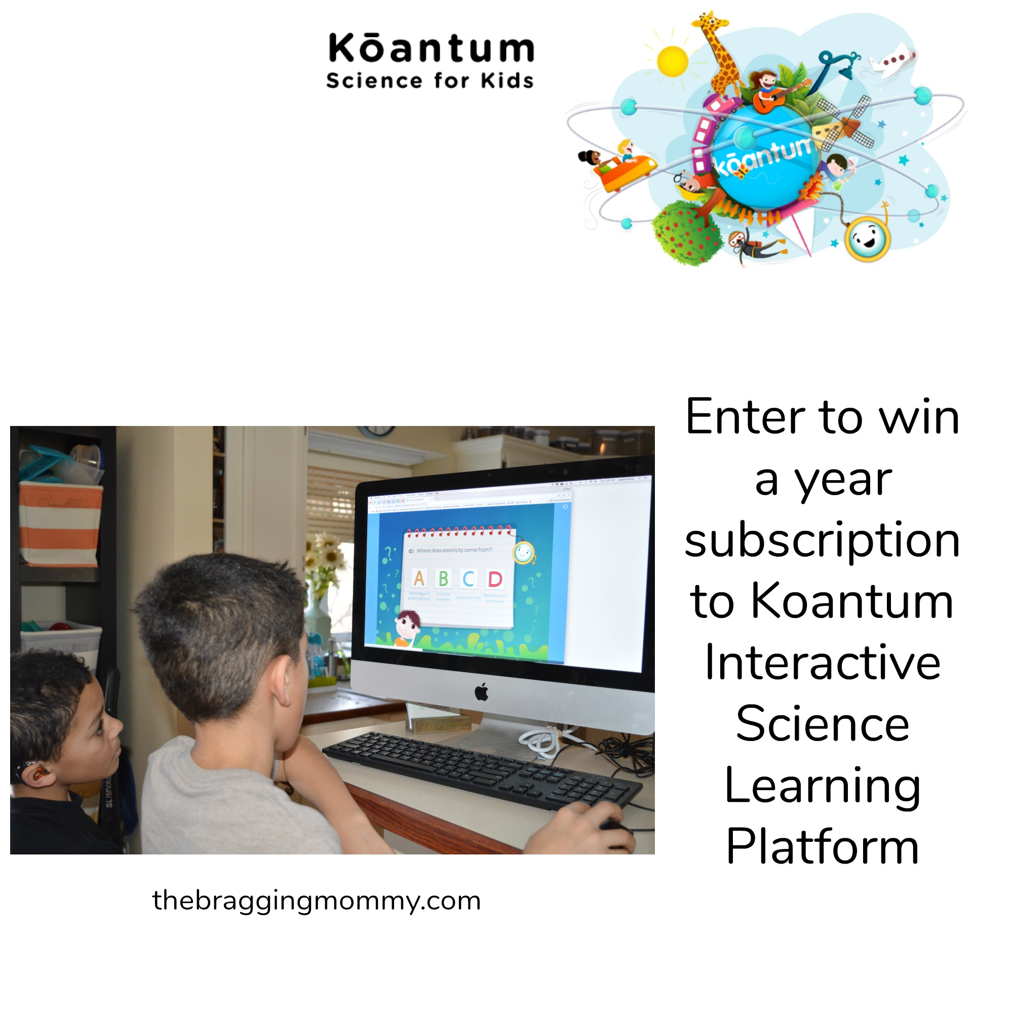 Koantum Interactive Science Learning Platform for Early