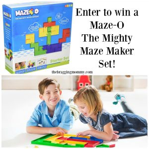 Maze-O The Mighty Maze Maker Review and Giveaway