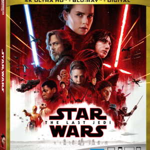 Star Wars: The Last Jedi is Available on Blu-ray Tomorrow! + DIY Star Wars Easter Activities #TheLastJedi