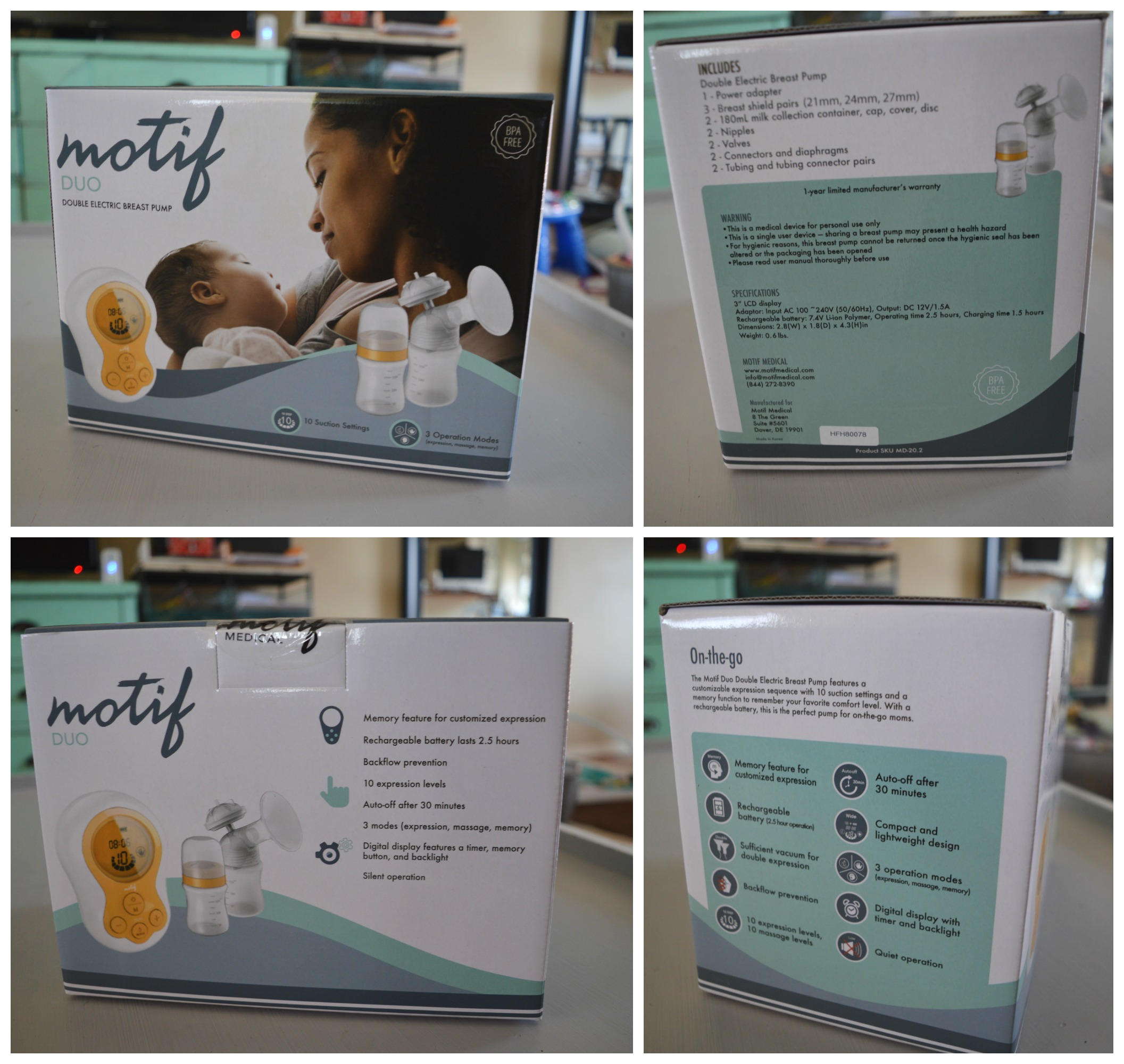Motif Duo Double Breast Pump Review And Giveaway