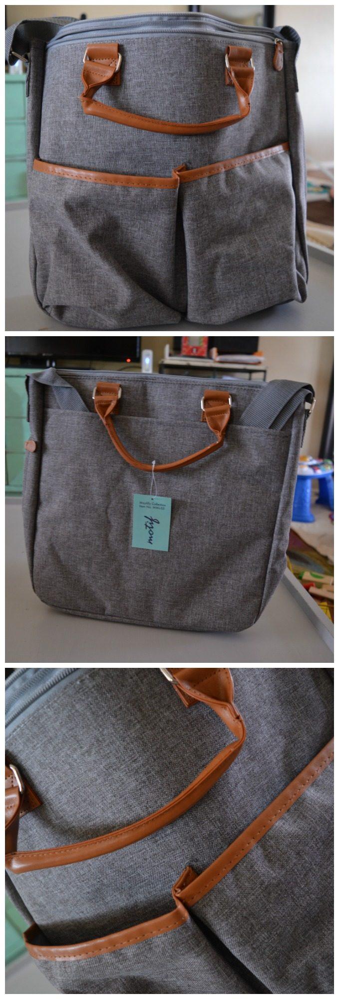 Motif Maylilly Electric Breast Pump Tote Bag Grey