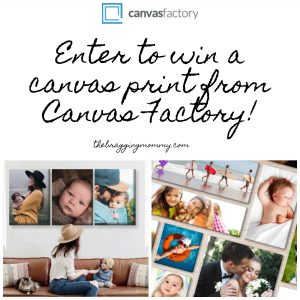Canvas Factory Canvas Print Review and Giveaway