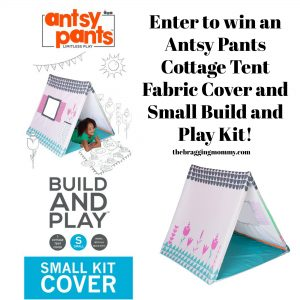 Antsy Pants Cottage Tent Fabric Cover and Small Build and Play Kit Review, Free Shipping Code, and Giveaway!
