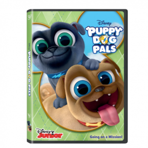 Disney Junior's Puppy Dog Pals DVD Giveaway! + Puppy Dog Pals Printable Activity & Coloring Pages
