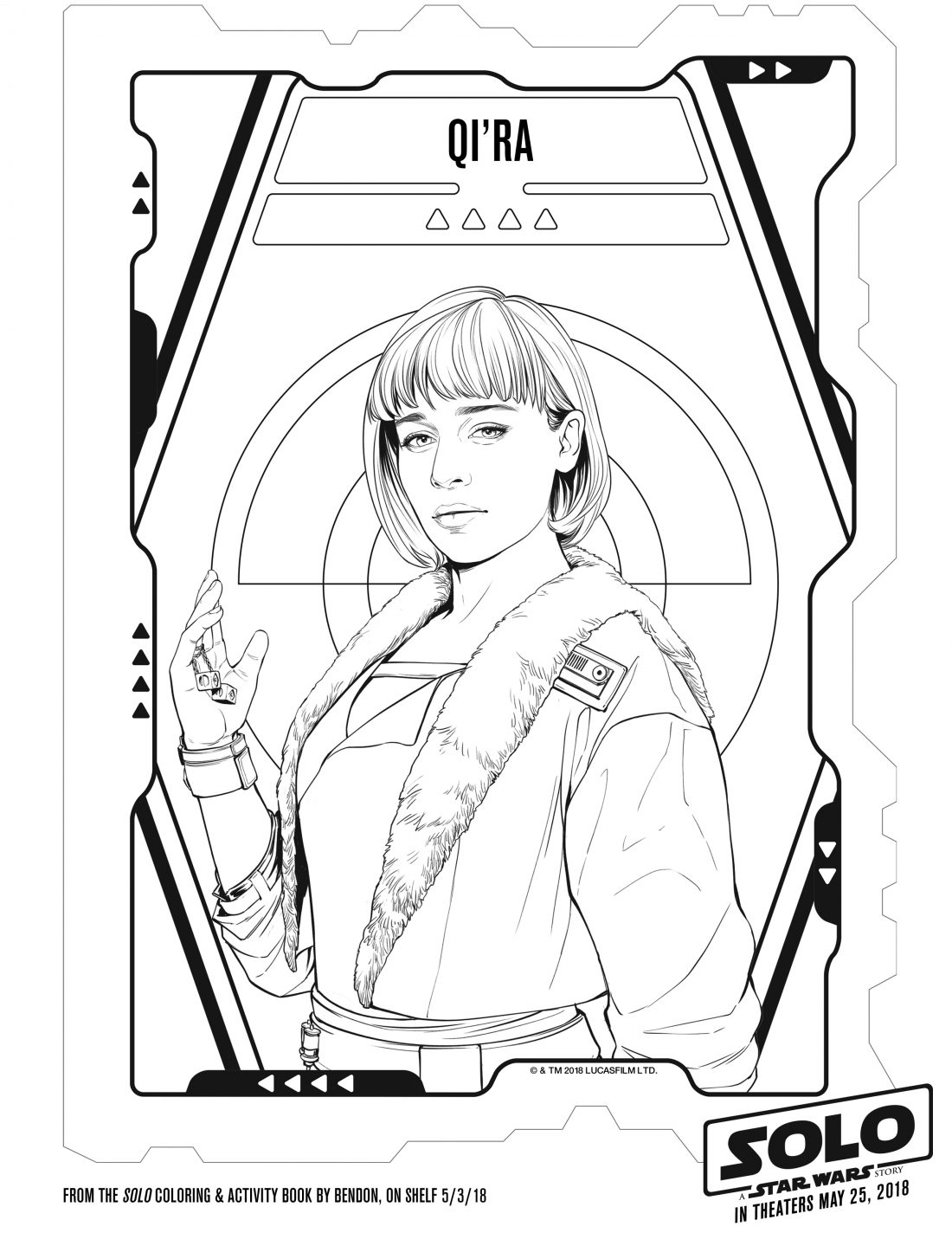 Free printable solo a star wars story coloring pages for Han solo coloring page