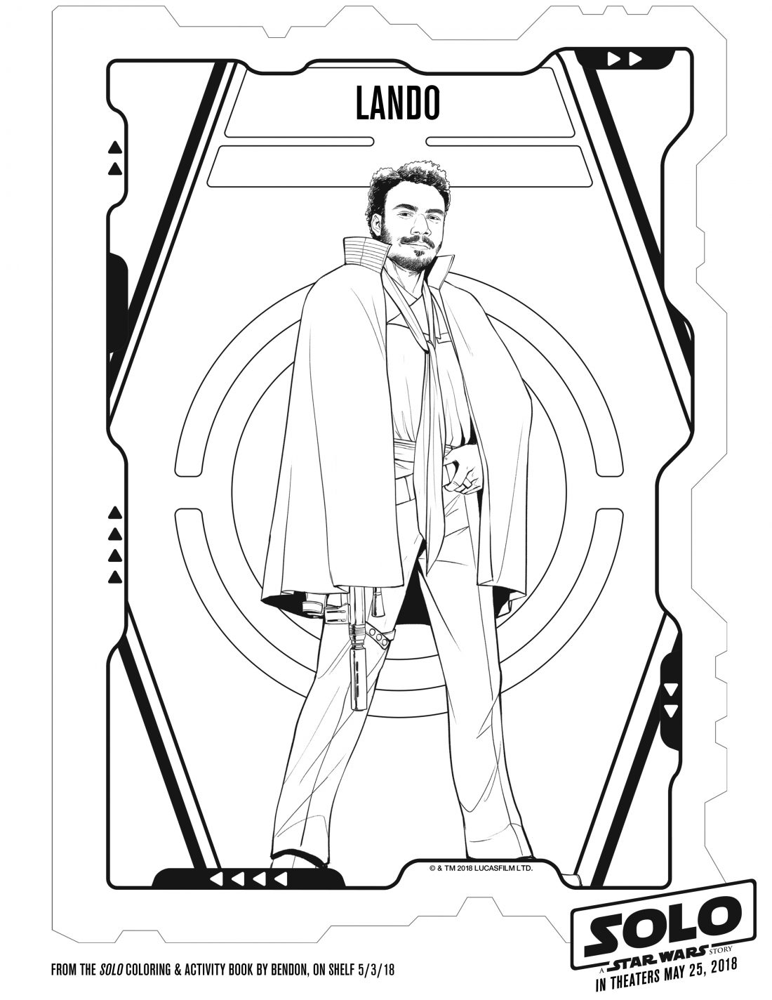 Free Printable SOLO A Star Wars Story Coloring Pages