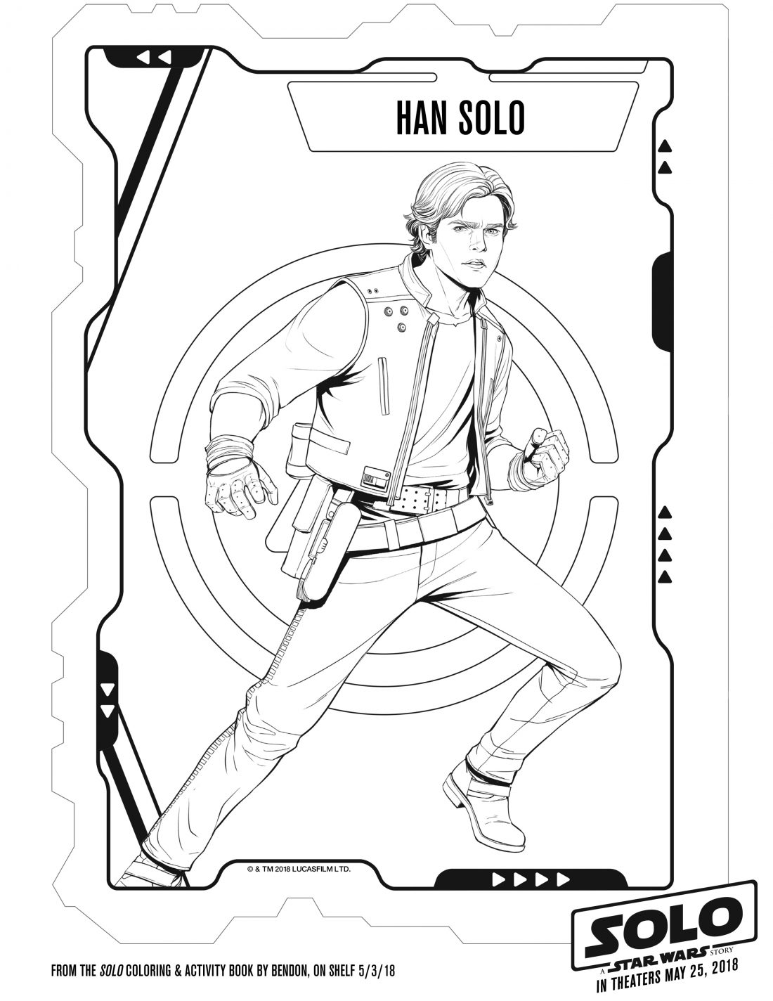 Free Printable SOLO: A Star Wars Story Coloring Pages ...